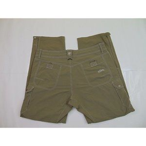 Kuhl Men 38 x 32 Hiking Pants Renegade Stealth Convertible Cargo Stretch Beige